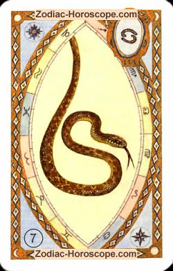 The snake, monthly Love and Health horoscope April Scorpio