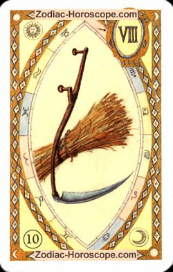 The scythe, monthly Love and Health horoscope March Scorpio