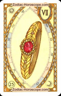The ring astrological Lenormand Tarot
