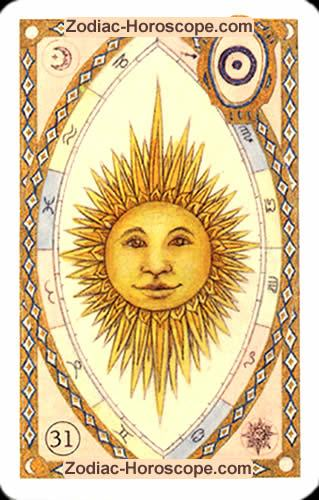 The sun Partnership love horoscope