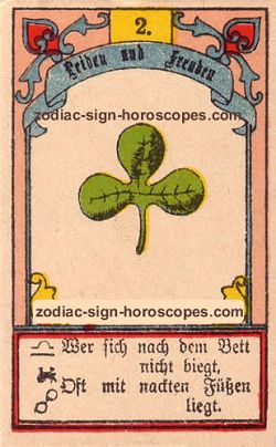 The clover, monthly Scorpio horoscope November